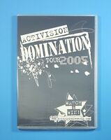 Activision Domination Tour 2005 Video Game Promo Pre-Order Event DVD Disc SEALED