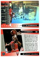 Michael Jordan 3D STANDOUT HOLOGRAM TRIPLE DOUBLE CARD RARE HUGE BV$$$