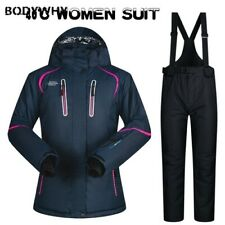 Ski Suit Women Winter Snow Clothing Thick Waterproof Ski Jacket and Pants Set