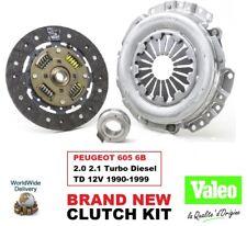 VALEO CLUTCH KIT for PEUGEOT 605 6B 2.0 2.1 Turbo Diesel TD 12V 1990-1999 235mm