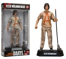 "THE Walking Dead TV a colori Tops Salvatore PRIGIONIERO Daryl 7"" figure McFarlane HORROR"