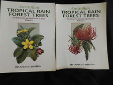 AUSTRALIAN TROPICAL RAIN FOREST TREES-VOL 1 & 2-HYLAND AND WHIFFIN-SC/1993