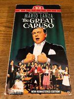 The Great Caruso VHS VCR Video Tape Movie Mario L'ANZA Used