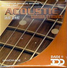 Cuerdas para guitarra acústica 10 - 48 Extra-Luz UK