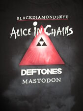 "2010 Alice In Chains ""Black Diamond Skye"" (3Xl) T-Shirt Deftones Mastedon"