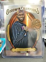 2020 Upper Deck Goodwin Champions LeBron James Silver Holo Refractor Lakers