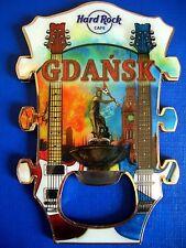 HRC Hard Rock Cafe Gdansk Danzig Headstock Magnet Bottle Opener NEW