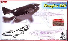 Unicraft Models 1/72 DOUGLAS 640 Submarine Launched Jet Fighter Concept