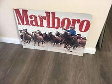 Marlboro  Metal metal  sign  bar garage shed man cave free postage