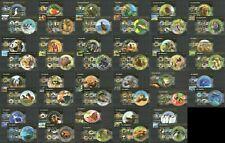 TG115-137 2015 TOGO FAUNA BIRDS ANIMALS REPTILES BUTTERFLIES 23KB+23BL MNH