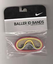 BALLER ID BANDS Wristbands Bracelets DEADSTOCK NEW VINTAGE 2005 3 Nike