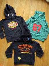 Baby Kleinkinder Jungen Bekleidungspaket Set 3 Sweatpullover Gr. 92 neuw.