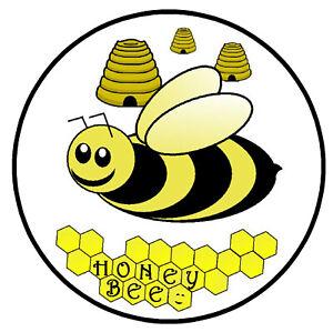 HONEY BEE / FUN NOVELTY SOUVENIR CAR TAX DISC HOLDER / SELF CLING / NEW / GIFTS