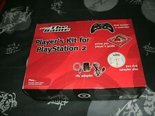 Very Rare Sony Playstation 2 Player's Kit Brand New Factory Sealed