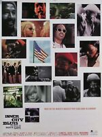 Inner City Blue 1995 The Music Of Marvin Gaye Original Promo Poster