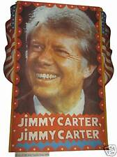 VINTAGE 70's PRESIDENT JIMMY CARTER  IRON ON  TRANSFER