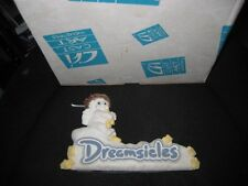 Darling Dreamsicles Sign Figurine With Original Box