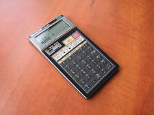 NOS Vintage SHARP EL-6150 4kb LCD pocket Data-Bank computer calculator