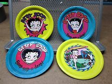 BETTY BOOP tin tea-set plates sexy bikini Max Fleischer retro '30s surfing Pudgy
