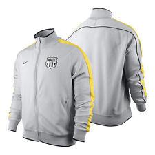 nwt~Nike FC BARCELONA Football Soccer N98 Track jersey Jacket shirt sweat Top~Lg