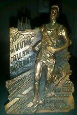TROFEO XI MARATHON-CATALUÑA BARCELONA 88 238gr. 9X6cm