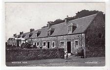 WESTER ROW, HERMISTON: Midlothian postcard (C16814)
