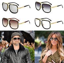 Celebrity Square Designer Luxury Flat Top Sunglasses Mens Womens