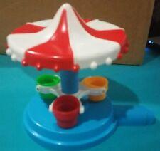 Disney 1986 Disneyland Playset replacement piece part; Carousel Tea Cups