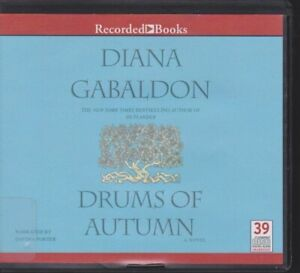 THE DRUMS OF AUTUMN by DIANA GABALDON~UNABRIDGED CD AUDIOBOOK