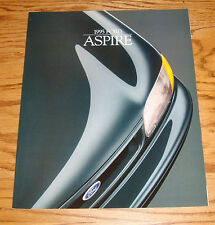 Original 1995 Ford Aspire Sales Brochure 95 Se