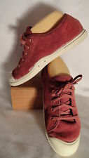 "KEEN ""SANTIAGO"" ~ Brick Red Corduroy Athletic Lace-up Sneaker , Mens 38.5/8"