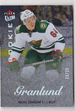 13-14 Fleer Ultra Mikael Granlund /25 Rookie Platinum Medallion Minnesota 2013