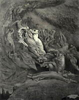 Gustave Dore Unknown Poster Reproduction Paintings Giclee Canvas Print