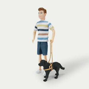 Luke and Guide Dog for Kids to play with fashionable doll with a guide Dog AU
