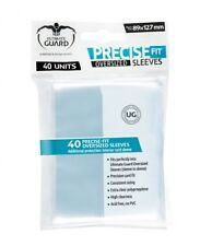 40 Ultimate Guard Precise-Fit Sleeves Oversized transparent (89x127mm)