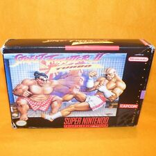 VINTAGE SUPER NINTENDO ENTERTAINMENT SYSTEM SNES STREET FIGHTER II TURBO GAME