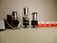 Seven 0A3 Vacuum Tubes Untested Mullard and Others Qty 7 Seeburg Jukebox