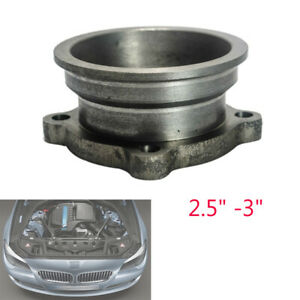"""Auto 4 Bolt Exhaust Flange Adapter 2.5"""" 3"""" V-Band Turbo Downpipe for GT35 GT30"""
