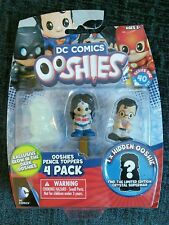 DC Comics Ooshies Collectable Pencil Toppers 4 Pack Glow Green Arrow Clark Kent