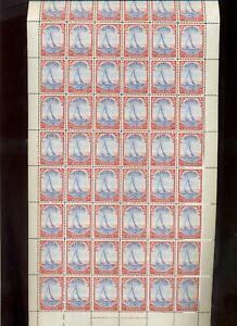 Bermuda 1938-52 2d SG 112a MNH complete sheet of 60