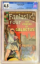 Fantastic Four 48 CGC 4.5 VG+ WHITE Pages 1st appearance Silver Surfer &Galactus