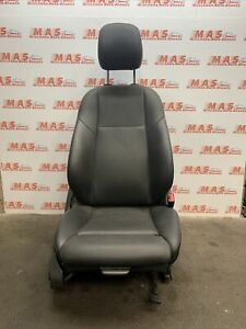 Mercedes C Class Driver Side Right Front Seat Black Leather W205 Saloon 2016