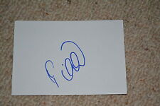 PREDRAG MIJATOVIC signed Autogramm  In Person 10x15 cm weisse Karte REAL MADRID