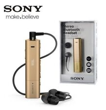 Sony SBH54 Wireless Bluetooth Stereo Headset - Gold - Retail Packed