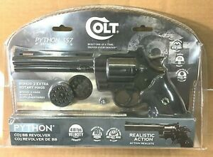 Colt Python .357 Magnum BB Air Pistol Revolver 410 FPS .177 4.5mm  Co2