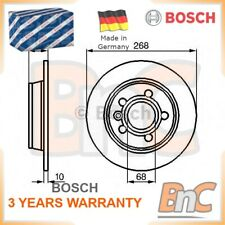 2x BOSCH REAR BRAKE DISC SET FORD SEAT VW OEM 0986478421 1137985