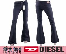 DIESEL LIVIER FLARE 0R48B W27 L32 Womens Denim Jeans Stretch Super Slim Flare