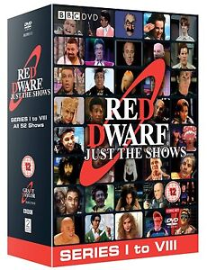 """RED DWARF COMPLETE SERIES COLLECTION 1-8 DVD BOX SET 10 DISCS R4 """"NEW&SEALED"""""""
