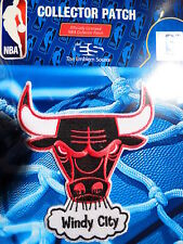 """Official Licensed NBA Chicago Bulls """"Windy City"""" Fan Iron or Sew On Patch"""