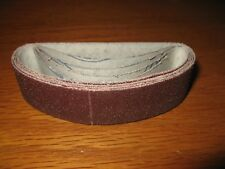 5- 120 grit sanding belts that fit Micro-Mark Microlux and Proxxon Hobby Sanders
